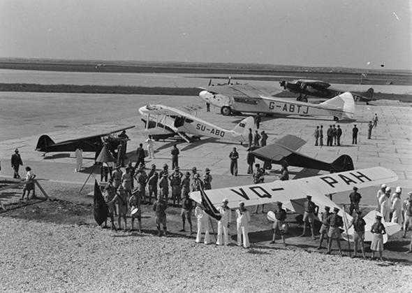 תמונת קורס הטיס הראשון