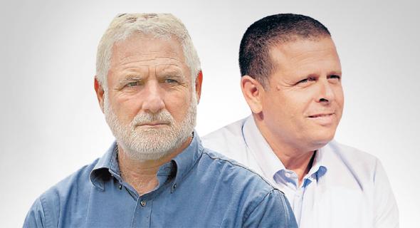 מימין איתן כבל ו דן הראל, צילום: עמית שאבי, עמית שעל