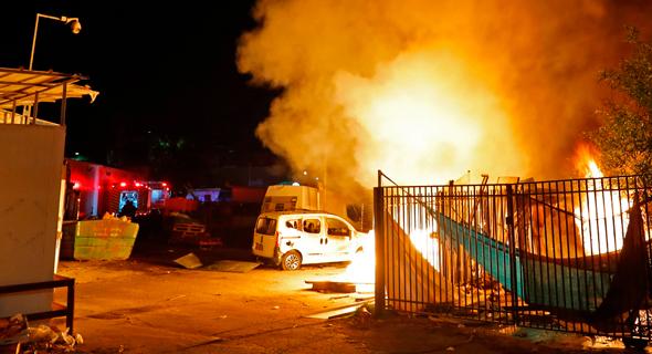 ירי רקטות עזה חמאס נתיבות, צילום: איי אף פי
