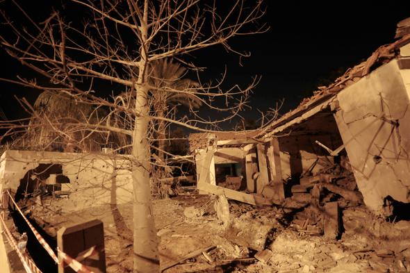 ירי רקטות עזה חמאס בית ב אשקלון, צילום: איי אף פי