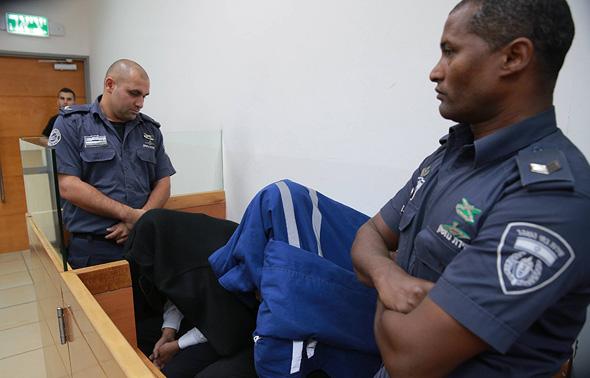 הארכת מעצר בפרשה, צילום: אוראל כהן