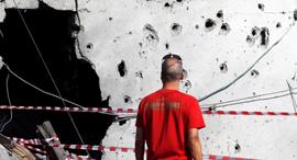 ירי רקטות עזה על אשקלון 2, צילום: רויטרס
