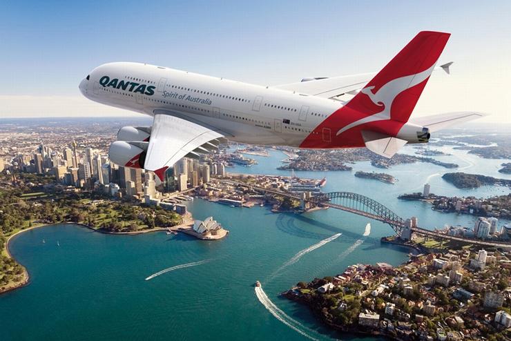 קוואנטס, אוסטרליה, צילום: Qantas