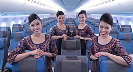 דיילות סינגפור איירליינס, צילום: Singapore Airlines