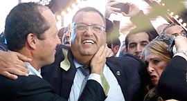 משה ליאון ראש עיריית ירושלים הנבחר, צילום: אי פי איי