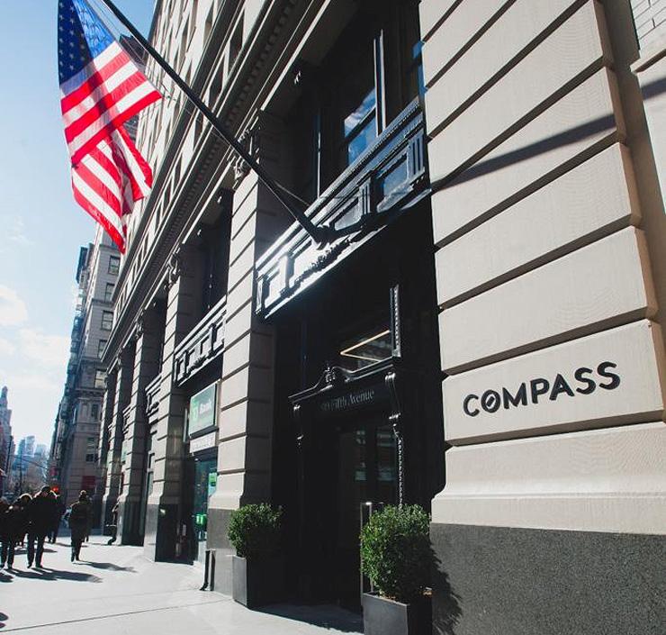 """משרדי קומפאס בניו יורק. """"עד 2020 אנחנו רוצים להגיע ל־20% נתח שוק בערים הגדולות בארה""""ב"""""""