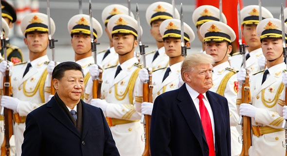 Chinese president Xi Jinping and Donald Trump. Photo: Getty Images