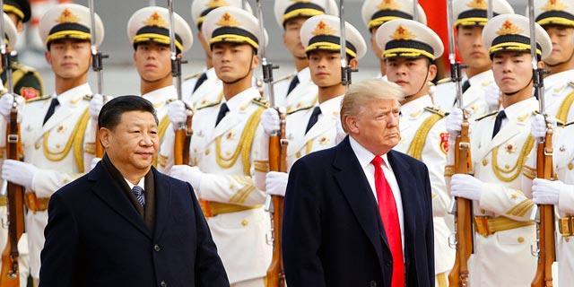"""המתח גואה, וסין נפטרת מאג""""ח אמריקאי בקצב המהיר זה שנתיים"""