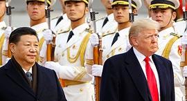 דונלנד טראמפ שי ג'ינפינג ביקור סין, צילום: גטי אימג'ס