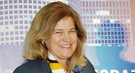 ג'ני ג'ונסון נשיאת פרנקלין טמפלטון , צילום: סיון פרג'