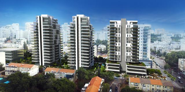 אושרה תוכנית פינוי בינוי לבניית שלושה מגדלים במרכז גבעתיים