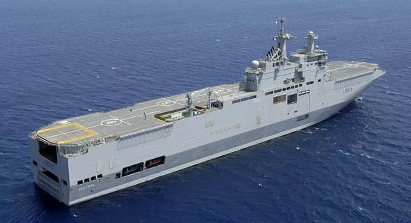 נושאת מטוסים מטיפוס מיסטראל, אותה רכשה מצרים