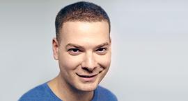 נדב אלון מנהל קשרי אקדמיה תעשיה גוגל ישראל, צילום: Daniela Landherr