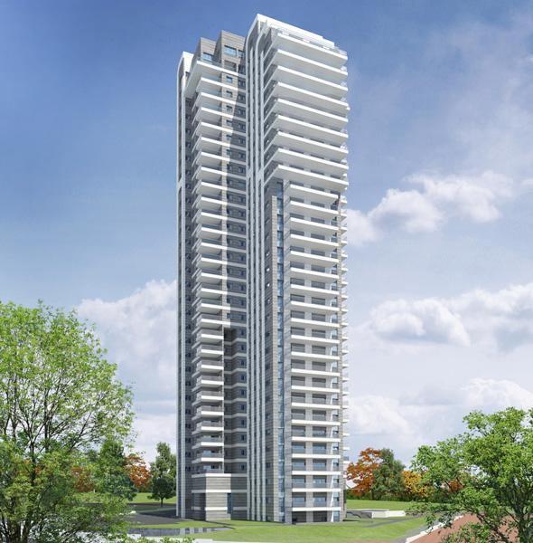 פרויקט מגדל הצוק נתניה קבוצת לוינשטיין, ההדמיה: 3Ddesign