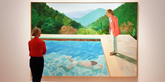 שיא חדש: ציור של דיוויד הוקני נמכר תמורת 90.3 מיליון דולר