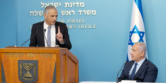 ראש הממשלה בנימין נתניהו ושר האוצר משה כחלון, צילום: עמית שאבי