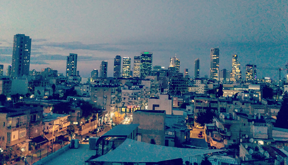 The view from SOSA TLV. Photo: Orr Hirschauge
