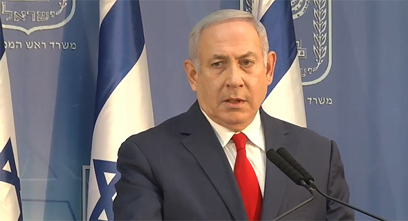 ראש הממשלה בנימין נתניהו 18.11.18, צילום: Ynet