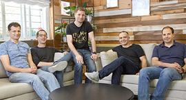 זאב פרבמן, ירון אינגר, ניר פוצ'טר, עמית גולדשטיין ואיתי צידון, צילום: אופיר אבה