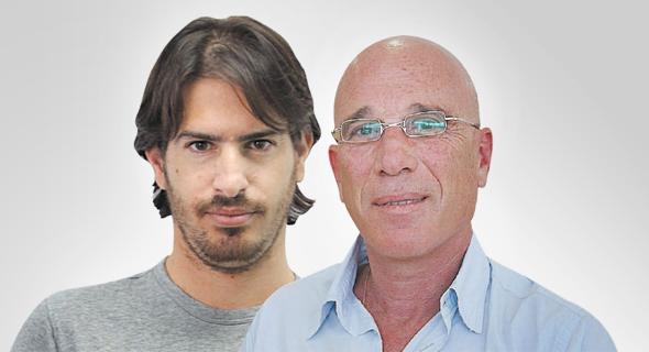 מימין אילן בן דב ו משה חוגג, צילום: אביגיל עוזי, אוראל כהן