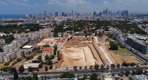 """מתחם הגדנ""""ע בתל אביב. מועד האכלוס המשוער נדחה לפחות בשנה"""