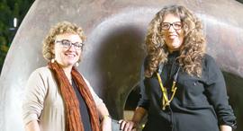 רחל קטושבסקי ותמי גבריאלי , צילום: אוראל כהן