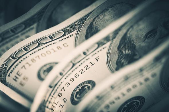 שטרות שטר דולרים דולר כסף, צילום: שאטרסטוק