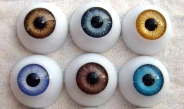 עין עיניים מלאכותי אקרילי עליבאבא, צילום: alibaba