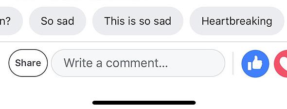פייסבוק המלצות תגובות