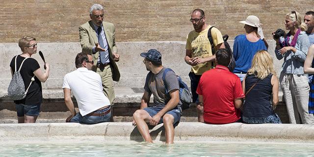 רומא: נכנסתם למזרקה? הקנס בדרך