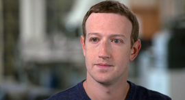 """מארק צוקרברג יו""""ר ו מנכ""""ל פייסבוק ראיון CNN, תמונה: CNN"""