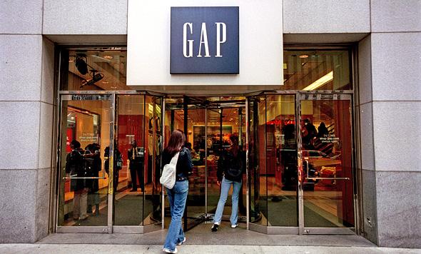 חנות גאפ בניו יורק, צילום: גטי אימג