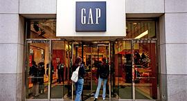 חנות גאפ בניו יורק, צילום: גטי אימג'ס