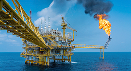 אסדת נפט, צילום: שאטרסטוק