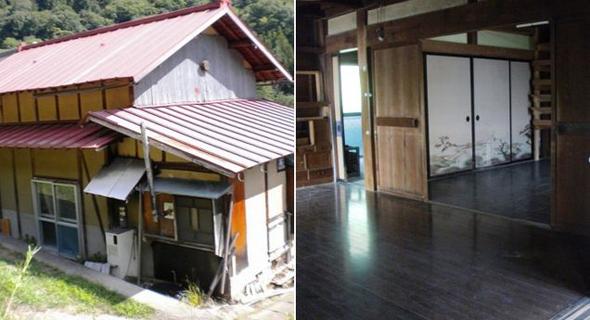 בית נטוש למסירה, צילום: city.ueda.nagano.jp