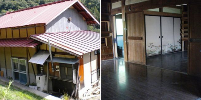 רק תבואו: ביפן מחלקים בתים בחינם