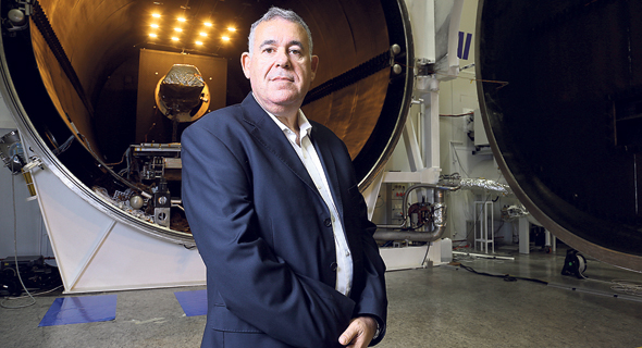Boaz Levy, IAI's deputy director of missile and space systems. Photo: IAI PR