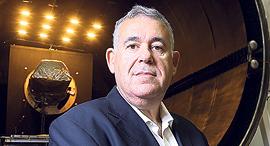 """בועז לוי, סמנכ""""ל חטיבת מערכות טילים וחלל בתעשייה האווירית, צילום: אביגיל עוזי"""