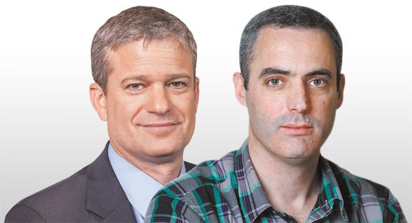 מימין: דני ירדני מאלטשולר שחם ואמיר גיל מהלמן־אלדובי
