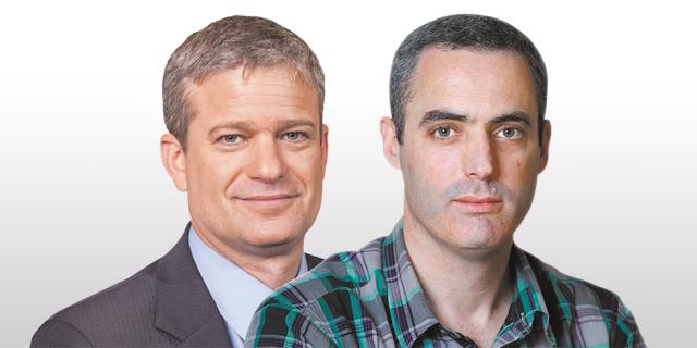 מימין: דני ירדני מאלטשולר שחם ואמיר גיל מהלמן־אלדובי, צילום: גיא חמוי, אוראל כהן