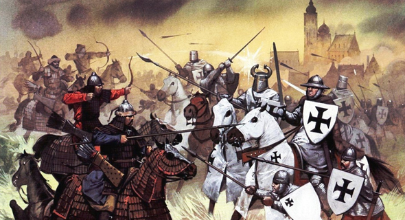 הפלישה המונגולית לאירופה