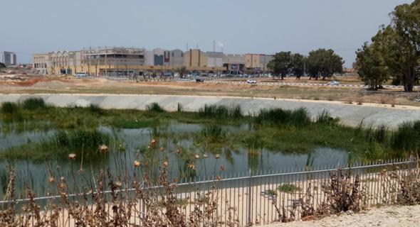 מאגר המים. העירייה לא ביקשה היתר לשימוש חורג