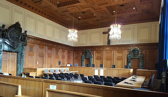 בית המשפט בנירנברג, בו התקיימו המשפטים לראשי המשטר הנאצי