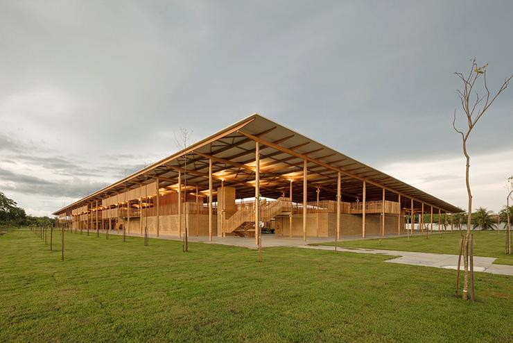 כפר הנוער המצטיין, צילום: Leonardo Finotti/Rosenbaum Arquitetura
