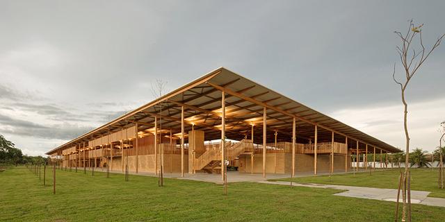 כפר נוער בשולי האמזונס בברזיל נבחר לבניין הטוב ביותר בעולם ל-2018