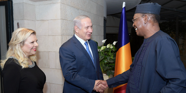 President of Chad, Netanyahu Discuss Security Cooperation