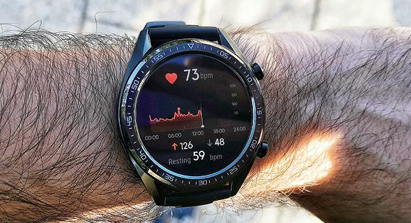 שעון חכם שעונים חכמים מחשוב לביש וואווי Watch GT, צילום: ניצן סדן