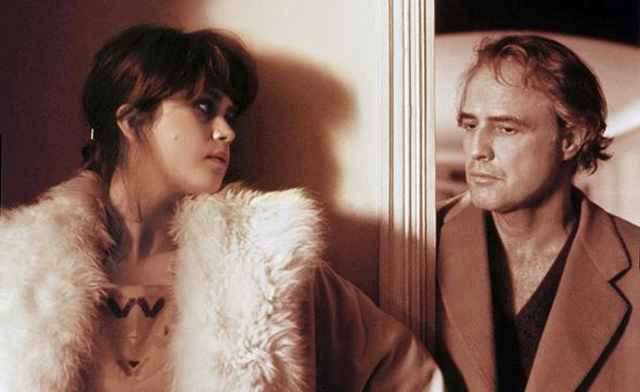 מרלון ברנדו ומריה שניידר מתוך הסרט טנגו אחרון בפריז