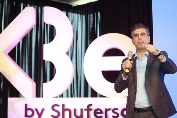 שר הכלכלה, אלי כהן, באירוע השקת הרשת החדשה