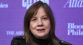 """מארי בארה מנכ""""לית ג'נרל מוטורס, צילום: איי אף פי"""